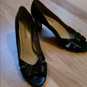 Karen Scott heels open toe